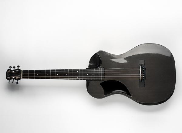 carbon fiber travel guitar front