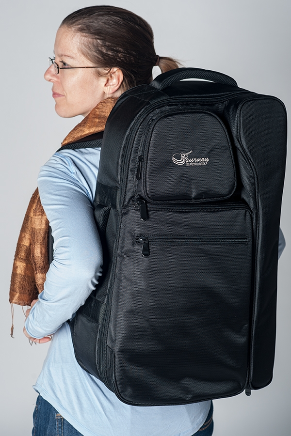 journey travel guitar full featured travel backpack