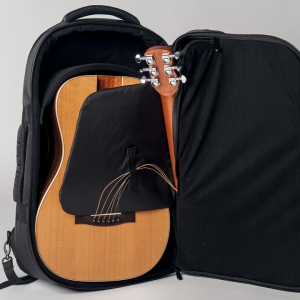 Journey travel guitar easy access interior compartment
