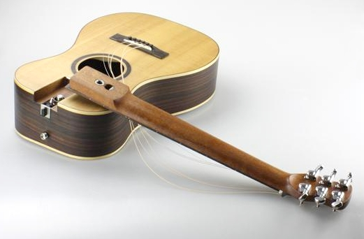 Collapsible Neck Travel Guitar