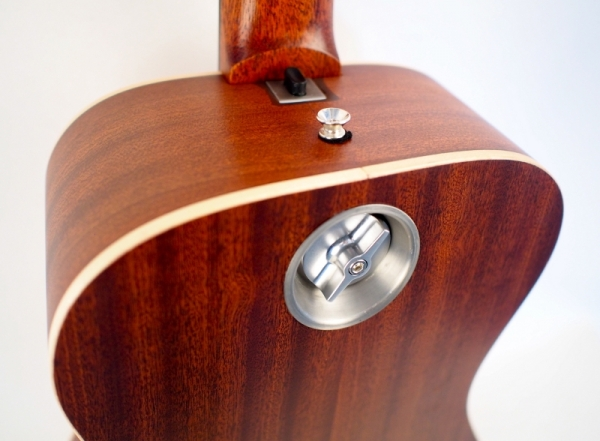 Journey overhead wood travel guitar hardware