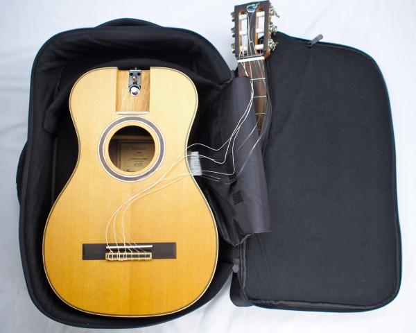 Journey overhead collapsible travel guitar
