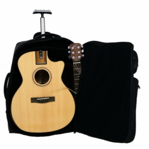 Overhead and First Class Collapsible Wood Travel Guitars