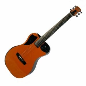 Orange Top Gloss Carbon Travel Guitar – OF660O1