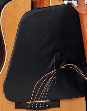 journey travel guitar foam panel and velcro straps