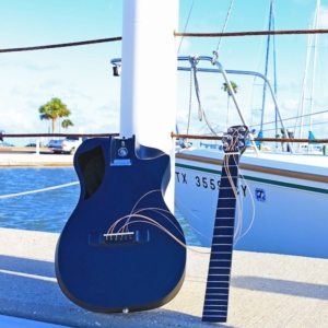 Overhead Collapsible Carbon Guitars