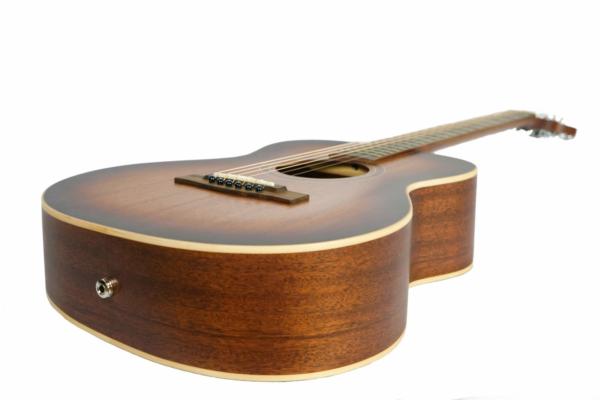 journey custom travel wood guitar