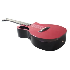 Burgundy Top Gloss Carbon Travel Guitar – OF660R1