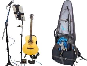 Journey carbon fiber travel guitar roadtrip set