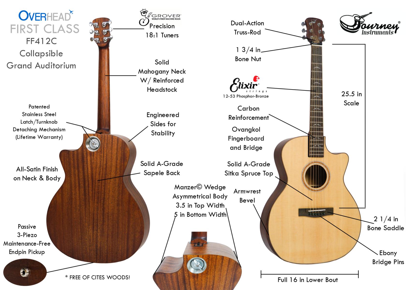 FIRST CLASS KICKSTARTER - Journey Instruments Travel Guitars
