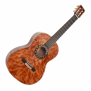 journey first class wood travel guitar