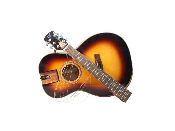 journey wood travel guitar