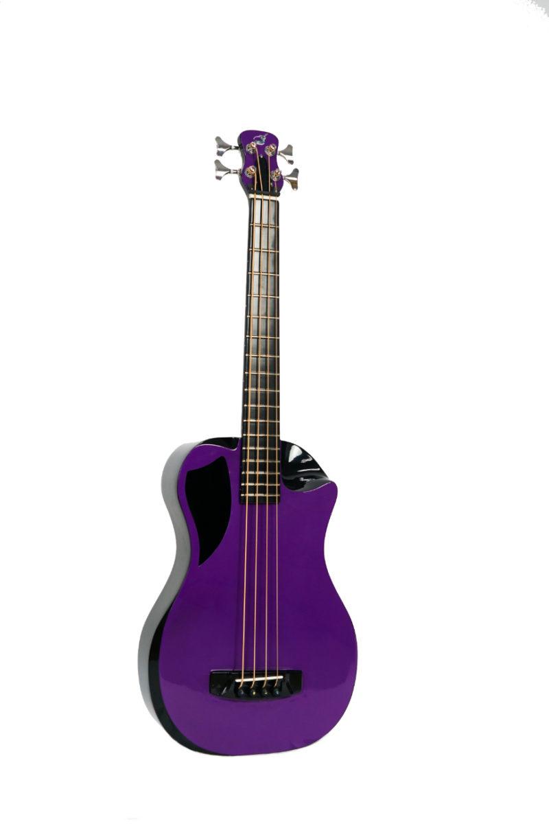 Carbon Fiber Electric Purple Top Bass - OB660P1