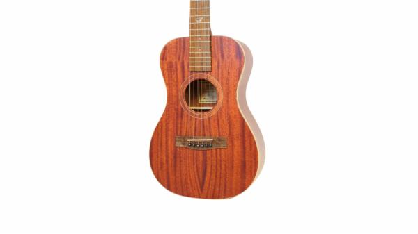 Journey overhead wood travel guitar