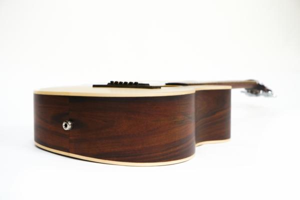 journey acoustic wood travel guitar