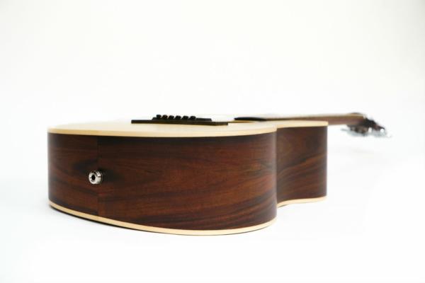 Journey travel guitar head stock