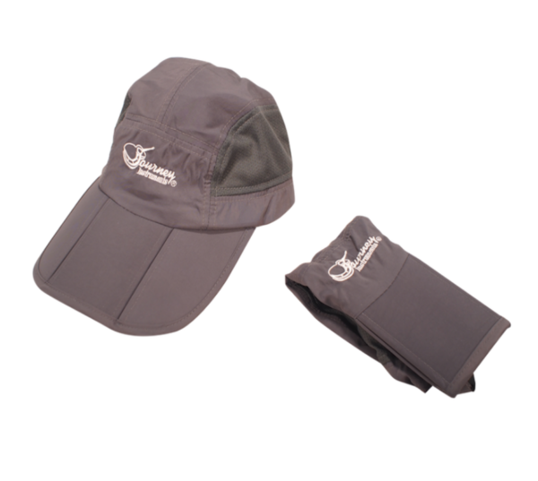 journey travel guitar hat grey