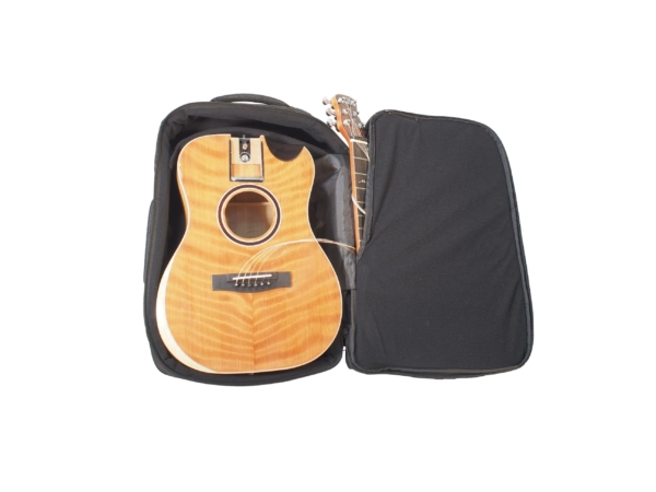 Overhead Collapsible Wood and Carbon Fiber Guitars